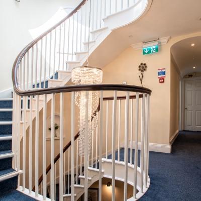 gallery corridor